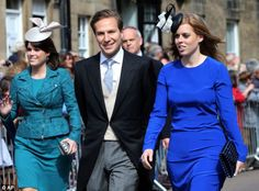 Princess Beatrice was accompanied the ceremony by Virgin Galactic businessman Dave Clark