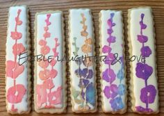 Flower Cookie Sticks | Edible Laughter & Love
