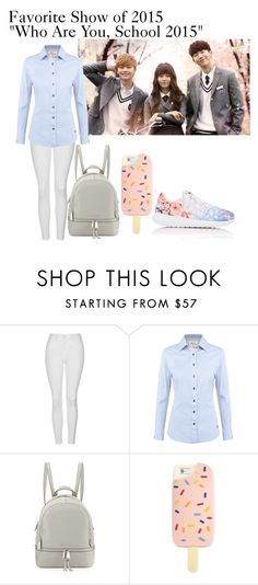 """Favorite Show of 2015"" by orietta-rose ❤ liked on Polyvore featuring Topshop, DUBARRY, MICHAEL Michael Kors, Tory Burch, NIKE, Favorite, artexpression and 2015"