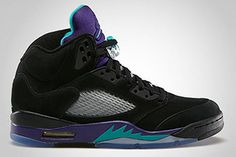 136027-007 Air Jordan V Black/New Emerald-Grape Ice-Black $119.99 http://www.newjordanstores.com/