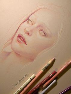 Daenerys by jennifer healy, via behance art рисование эскизов, рисунки, иск Drawing Sketches, Pencil Drawings, Art Drawings, Draw Tutorial, Portrait Au Crayon, Art Watercolor, Faber Castell, Color Pencil Art, Stonehenge