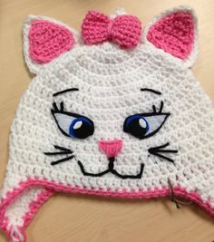 Marie - Aristocats - Bookworm Stitches