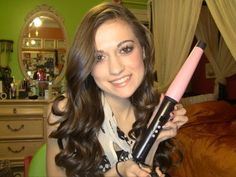 Remington Curl Wand Hair Tutorial!!  this is the exact curling iron I have (size and everything)