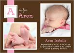 Baby Girl Birth Announcements and Girl Photo Announcements | Shutterfly
