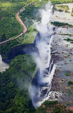 Victoria Falls, Zambia The magnificent Victoria Falls is about 1 lime long and over high making it the biggest singular waterfalls in the world. Visit Vietnam, Vietnam Travel, Beautiful Places In The World, Great Places, Amazing Places, Travel Pictures, Travel Photos, Places To Travel, Places To Visit