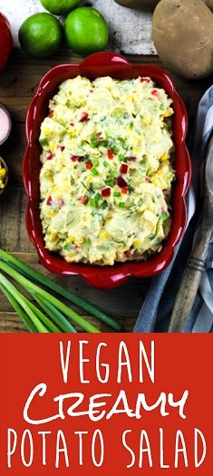 Who doesn't love a delicious potato salad? This Creamy Vegan Potato Salad will…