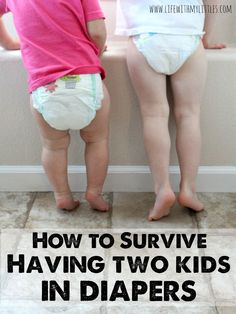 How to survive having two kids in diapers: tips to save money and make it through living with two kids in diapers Second Baby, Second Child, Second Pregnancy, Cloth Diapers, Diaper Genie Refill, Irish Twins, Pvc Hose, Baby Number 2, Bebe