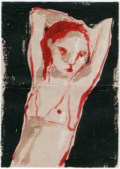 "Saatchi Art Artist Monica Bonzano; Painting, ""BE HERE"" #art"