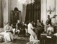Izabela v Grassalkovicovom plalaci +/- 1898