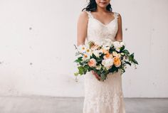 Bouquet by Blush and Bloom, photography By Christine Lim