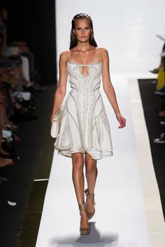 Herve Leger Spring 2014 Runway Show | NY Fashion Week