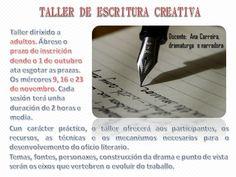 Taller de escritura creativa.