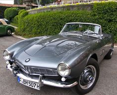 This BMW 507 roadster is gorgeous. Look at the lines!