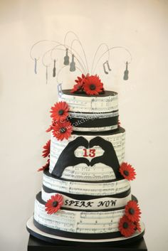 Taylor Swift cake Please visit our website @ http://22taylorswift.com