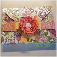 StampinUp, Verpackung mit dem Umschlag Board...