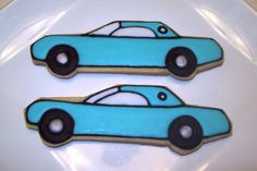 Thunderbird car cookies by Jillfcs