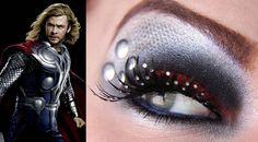 Fantastic-Avengers-Eye-Makeup-4 Thor