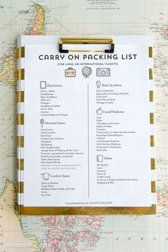This Genius Packing List Helps You Travel With Essentials Only - GoodHousekeeping.com