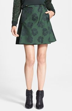 Tory Burch 'Karina' A-Line Skirt available at #Nordstrom $210