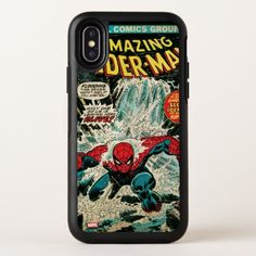 Spiderman - 151 Dec OtterBox Symmetry iPhone X Case - retro gifts style cyo diy special idea