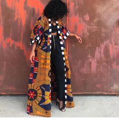 Pin P r e t t y R a r e fashion style prints african prints grow African Fashion Ankara, African Inspired Fashion, Latest African Fashion Dresses, African Print Dresses, African Dresses For Women, Ghanaian Fashion, African Print Fashion, Africa Fashion, African Attire