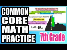 ✪ Altitude and Combining Opposite Quantities | 7th Grade Common Core Math - YouTube