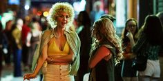 """'The Deuce' sex-industry drama renewed for second season by HBO. HBO says it has ordered a second season of its drama series, """"The Deuce,"""" which is set in the sex industry of New York. Tv Series 2017, Drama Series, Maggie Gyllenhaal, James Franco, Second Season, New York Times, Yorkie, Leather Jacket, Actresses"""