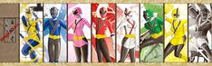 Samurai Rangers by the-newKid.deviantart.com on @deviantART