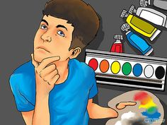 How to Paint - great basic ideas that sometimes get forgotten when the urge to be creative happens