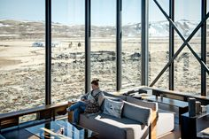 Where to stay in Iceland: ION Hotel, a luxury design hotel near the Golden Circle. The Northern Lights bar.