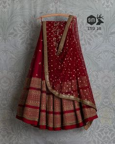 SwatiManish Lehengas SMF LEH 139 18 Maroon sequin threadwork lehenga with matching sequin dupatta and sequin blouse (SOLD) Designer Bridal Lehenga, Bridal Lehenga Choli, Indian Lehenga, Indian Gowns, Indian Wear, Red Lehenga, Saree, Party Wear Indian Dresses, Indian Bridal Outfits