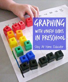 Graphing activities in preschool - Stay At Home Educator