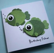 Ideas birthday funny kids cards punch art for 2019 Handmade Greeting Card Designs, Handmade Greetings, Kids Birthday Cards, Handmade Birthday Cards, Funny Birthday, Art Birthday, Happy Birthday, Scrapbooking Original, Punch Art Cards