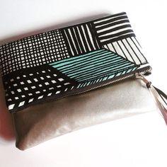 Marimekko Clutch evening bag  by karlacola on Etsy