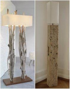 Resultado de imagen para imágenes de pantallas de lámparas con palos del mar