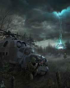 An exploration of the world after the Apocalypse. Apocalypse Landscape, Apocalypse Art, Chernobyl, Dark Fantasy, Fantasy Art, Roadside Picnic, Post Apocalyptic Art, Writing Fantasy, Matte Painting