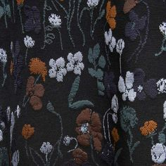 Floral print detailing from the Mulberry AW13 catwalk