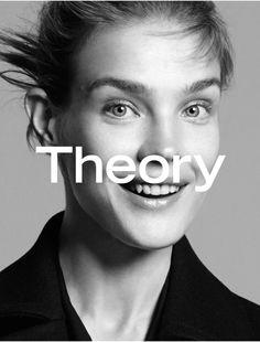 Theory Campaign f/w'15.16. Natalia Vodianova by David Sims