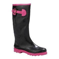 "Henry Ferrera 13"" Neon Rain Boots"