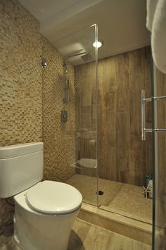 Stand Up Shower with Frameless Shower Doors.
