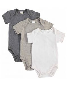 3 Pack Short Sleeve Vests Unisex Baby, Summer Days, Little Ones, Vests, Short Sleeves, Cotton, Stuff To Buy, Shopping, Clothes