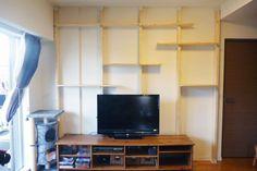 賃貸住宅でもおしゃれに壁面収納!ディアウォールで簡単DIY - Colors(カラーズ)