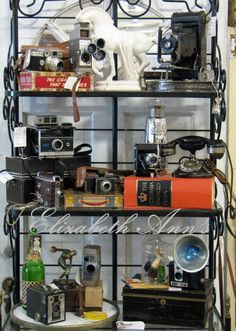 Someday I hope to have all my cameras displayed together again in my studio.