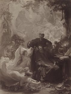 August von Kreling - The Dream of Faust - 1874