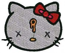 Killed Kitty - Machine Embroidery Designs