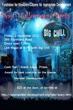 Gig poster Big Chill, Gig Poster, Blue Band, Cool Costumes, Live Music, Fundraising, Blues, Movie Posters, Film Poster