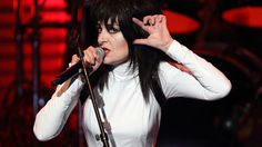 Siouxsie on stage at the Royal Festival Hall