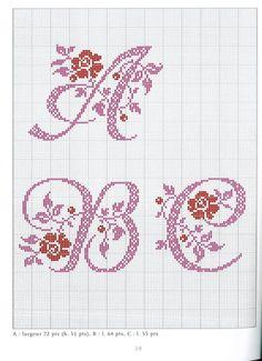 Gallery.ru / Фото #39 - Belles lettres au point de croix - logopedd