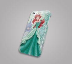 Disney princess ariel iPhone 4S,5S,5C,6,6 Plus,S3,S4,S5,Note,HTC,Xperia,LG,moto