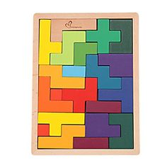 GYBBERMUMU Colorful Wooden Tangram Jigsaw Puzzle Toy 21 Pieces * To view further for this item, visit the image link. Note:It is Affiliate Link to Amazon. #art